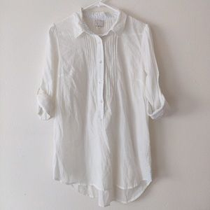 Anthropologie 9-H15 STCL Cotton Blouse